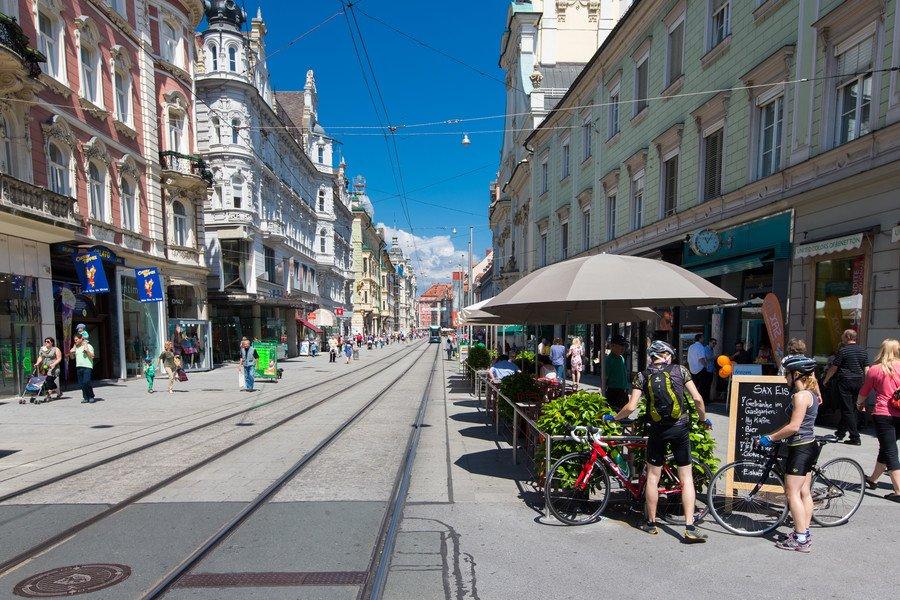 Herrengasse Graz, Austria