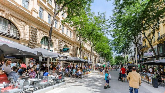 Mariahilferstraße, Vienna, Austria