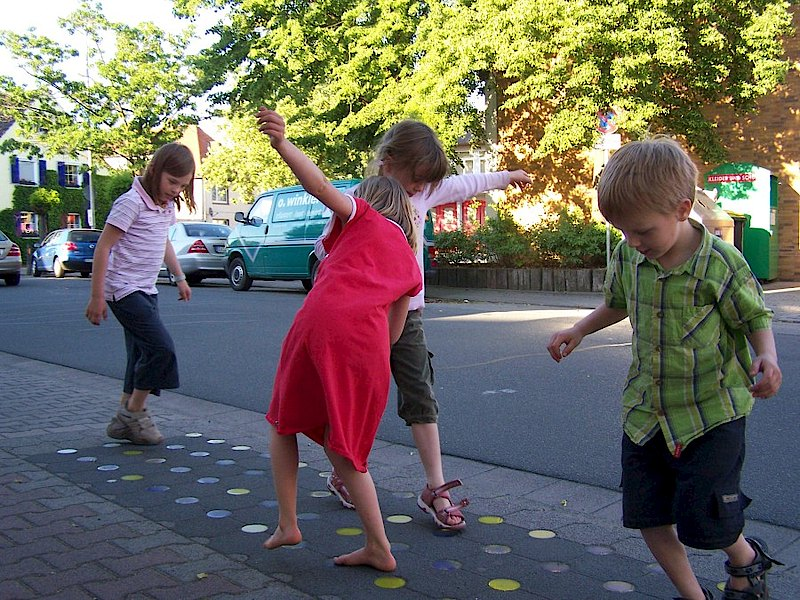 Playing equipment on the streets