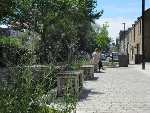 Street Pocket Park – Derbyshire, London